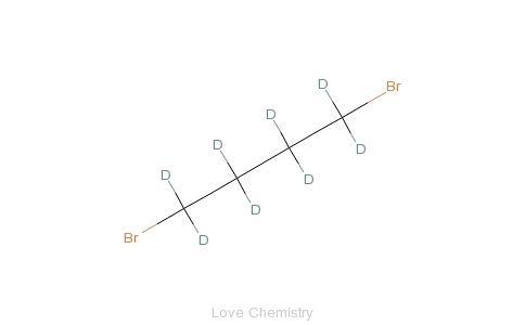 CAS:68375-92-8_1,4-二溴丁烷-d8的分子结构