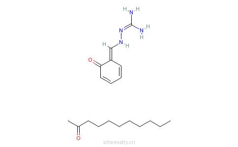 CAS:68411-85-8_2-[(2-羟基苯基)亚甲基]氨基胍与2-十一烷酮的缩合反应产物的分子结构