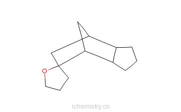 CAS:68480-11-5_十氢化-螺[呋喃-2(3H),5'-[4.7]亚甲基-5H-茚的分子结构