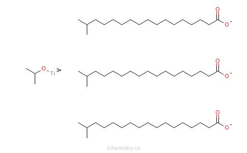 CAS:68784-51-0_异硬脂酸异丙醇酯钛络合物的分子结构