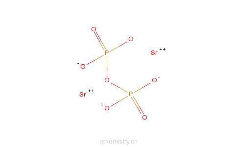 CAS:68784-61-2_掺杂铕的二磷酸锶的分子结构