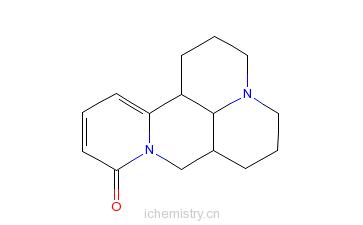 CAS:6882-66-2_槐胺的分子结构