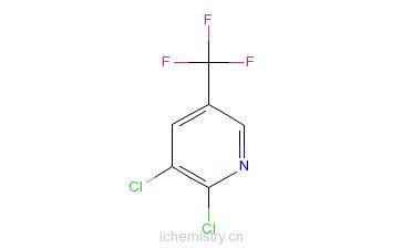 CAS:69045-84-7_2,3-二氯-5-三氟甲基吡啶的分子结构
