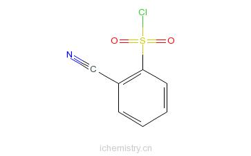 CAS:69360-26-5_2-氰基苯磺酰氯的分子结构
