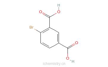 CAS:6939-93-1_4-溴-1,3-苯二甲酸的分子结构