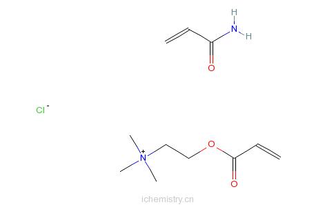CAS:69418-26-4_聚季铵盐-33的分子结构
