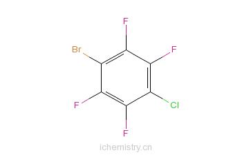 CAS:69452-84-2_1-溴-4-氯-2,3,5,6-四氟苯的分子结构