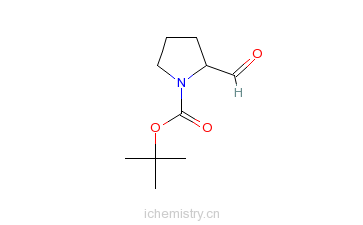 CAS:69610-41-9_N-BOC-L-脯氨醛的分子结构