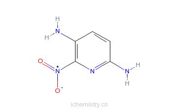 CAS:69825-83-8_6-硝基-2,5-二氨基吡啶的分子结构