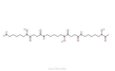 CAS:70-51-9_去铁胺的分子结构