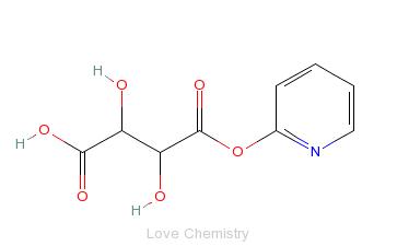 CAS:7008-17-5_酒石酸羟吡啶的分子结构