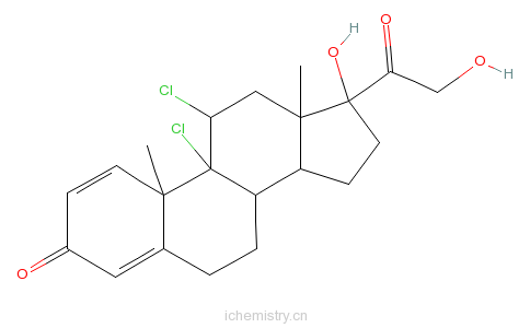 CAS:7008-26-6的分子结构