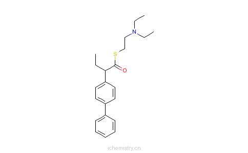 CAS:7009-79-2_珍替沃酯的分子结构