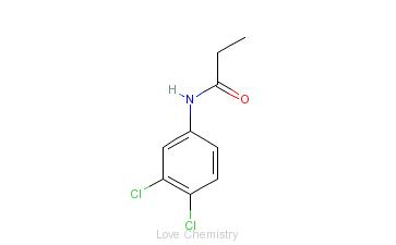 CAS:709-98-8_敌稗的分子结构
