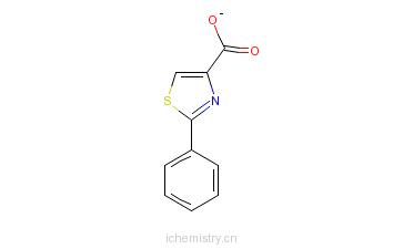 CAS:7113-10-2_2-苯基-1,3-噻唑-4-甲酸的分子结构