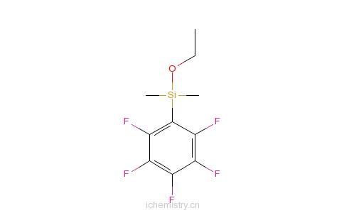 CAS:71338-73-3_五氟苯基乙氧基二甲基硅烷的分子结构