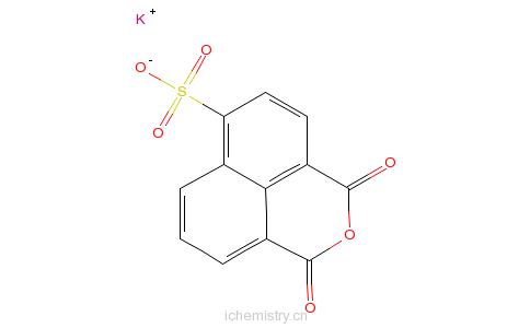 CAS:71501-16-1_4-磺酸钾-1,8-萘酐的分子结构