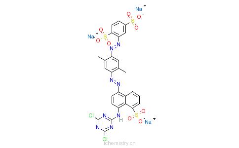 CAS:71872-78-1_C.I.活性棕23的分子结构