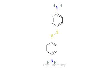 CAS:722-27-0_4,4'-二硫代二苯胺的分子结构