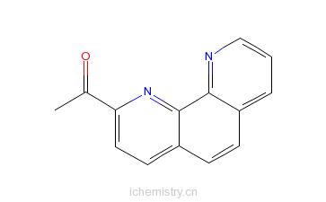 CAS:72404-92-3_2-乙酰基-1,10-菲罗啉的分子结构