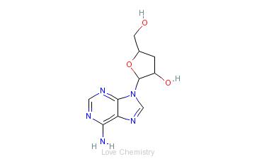 CAS:73-03-0_虫草素的分子结构
