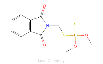 CAS:732-11-6_亚胺硫磷的分子结构
