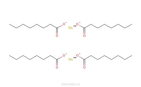 CAS:73482-96-9_辛酸铑的分子结构