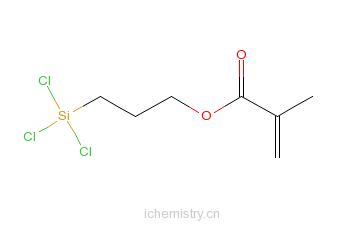 CAS:7351-61-3_甲基丙烯酸丙基三氯硅烷的分子结构