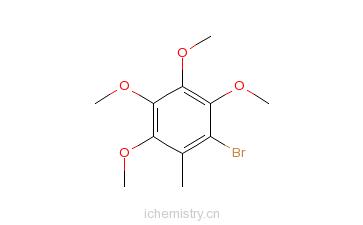 CAS:73875-27-1_2-甲基-3,4,5,6-四甲氧基溴苯的分子结构