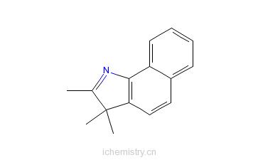 CAS:74470-85-2_2,3,3-三甲基-3H-苯并[g]吲哚的分子结构