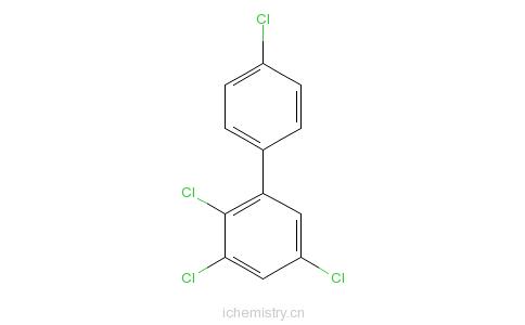 CAS:74472-34-7_2,3,4',5-四氯联苯的分子结构