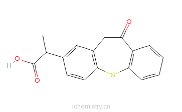 CAS:74711-43-6_扎托布洛芬的分子结构
