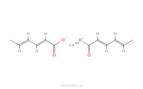 CAS:7492-55-9_山梨酸钙的分子结构