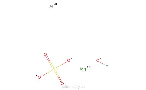 CAS:74978-16-8_镁加铝的分子结构