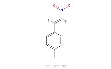 CAS:7559-36-6_对甲基-β-硝基苯乙烯的分子结构