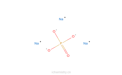 CAS:7601-54-9_磷酸三钠的分子结构