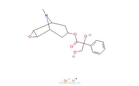 CAS:76822-34-9_樟柳碱氢溴酸盐的分子结构