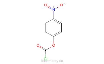 CAS:7693-46-1_对硝基苯基氯甲酸酯的分子结构