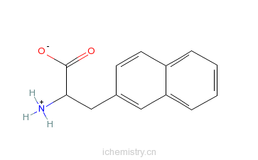 CAS:76985-09-6_D-3-(2-萘基)-丙氨酸的分子结构