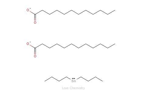 CAS:77-58-7_二月桂酸二丁基锡的分子结构