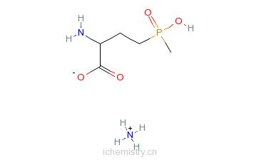 CAS:77182-82-2_草铵膦的分子结构