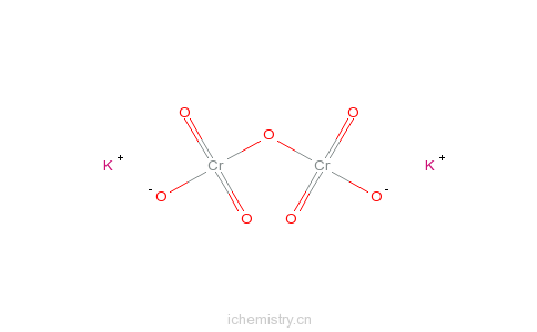 CAS:7778-50-9_重铬酸钾的分子结构