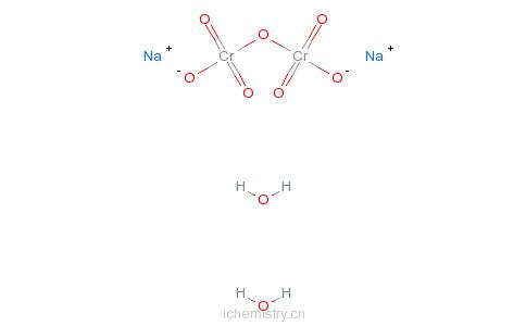 CAS:7789-12-0_重铬酸钠的分子结构