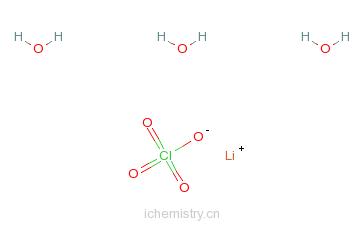 CAS:7791-03-9_高氯酸锂的分子结构