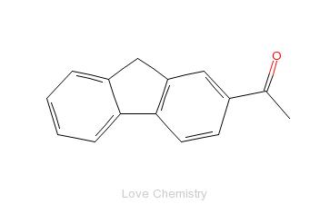 CAS:781-73-7_2-乙酰芴的分子结构