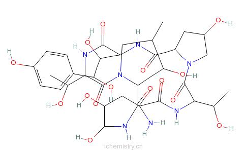 CAS:79411-15-7_棘白菌素B的分子结构