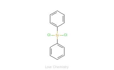 CAS:80-10-4_二苯二氯硅烷的分子结构