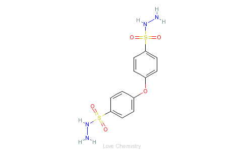 CAS:80-51-3_4,4'-氧代双苯磺酰肼的分子结构