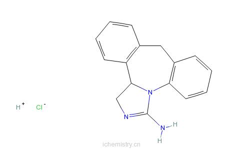 CAS:80012-43-7_依匹斯汀的分子结构