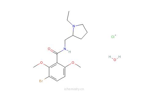 CAS:80125-14-0_瑞莫必利的分子结构